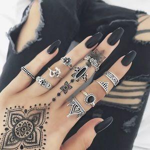 Jewelry - 💣Midi ring set💣